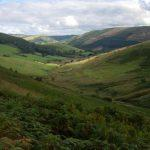 The unspoilt glacial vally , Abergwesyn Valley