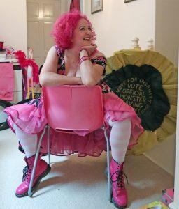 Lady Lil, Burlesque style