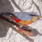 nuthatch, garden bird, suncatcher