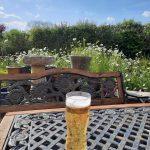 beer in the garden