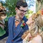 magical may elopement  - alternative wedding couple